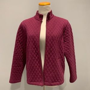Charter Club Quilted Jacket PL